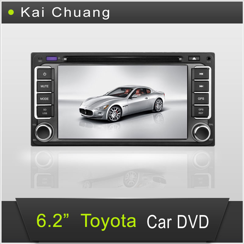 Wonderful Toyota Car Stereo DVD with GPS 6.2inch Touch Screen