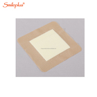 self-adhesive dressing conforms to body contour foam silicone bandage