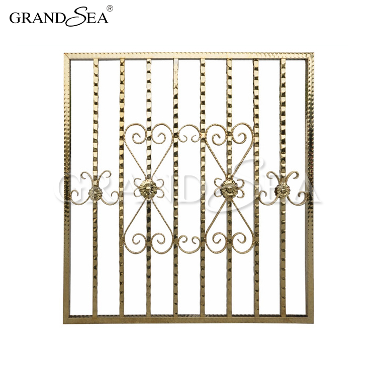 Factory Wholesale Frame Wrought Iron Windows Protection In