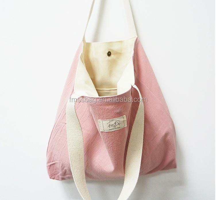 Custom clear file camping article tote cotton bags