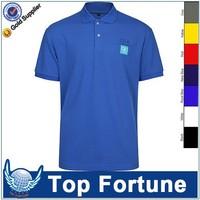 unisex high quality cotton pique polo shirt