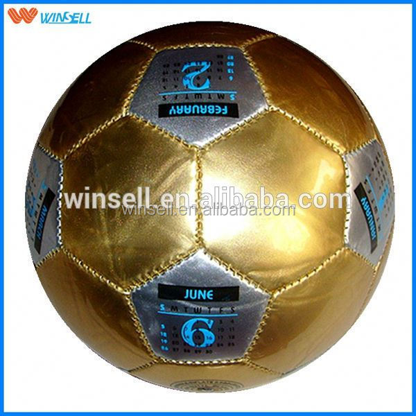 2015 team training big qty cheap promotional soccer ball & football no. 1