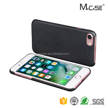 China Attractive Appearance Shockproof Plain Carbon Fiber Phone Case For iPhone 7 Case