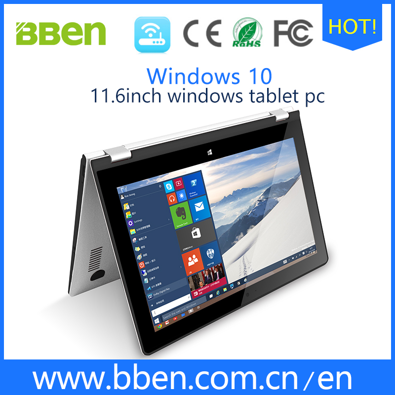 Factory price windows tablet pc with keyboard webcam intel Atom Z8300