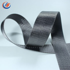 2 cm, 2.5 cm, 3.2 cm, 3.8 cm, 5 cm Couleur Unie Grand Stock Tressé En Nylon Sergé Bande De Sangle Pour Sac Sangle Ceinture