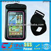 beautiful waterproof cell phone accessory for iphone 4g with armband with IPX8 certificate for swimming