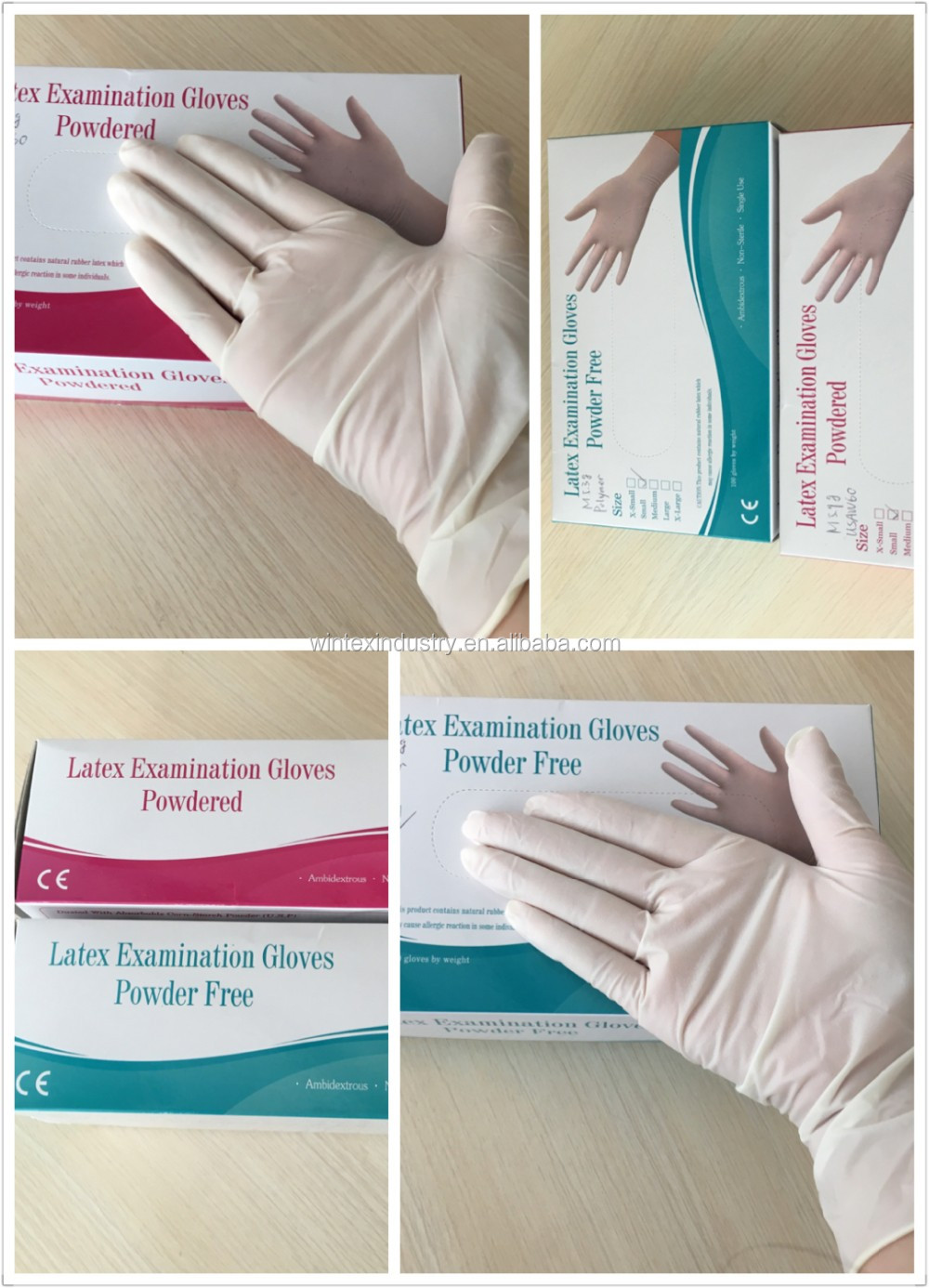 medical disposable latex gloves wholesale gloves latex