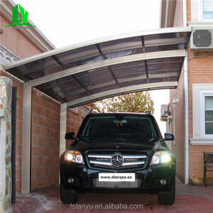 retractable double door automatic carport