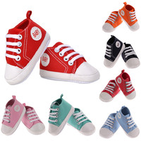 Wholesale fashion kids child shoes Newborn lace Baby Shoe