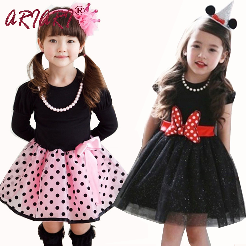 2016 Hot Sale Birthday Baby Girl font b Dress b font Princess Polka Dot Plaid Party