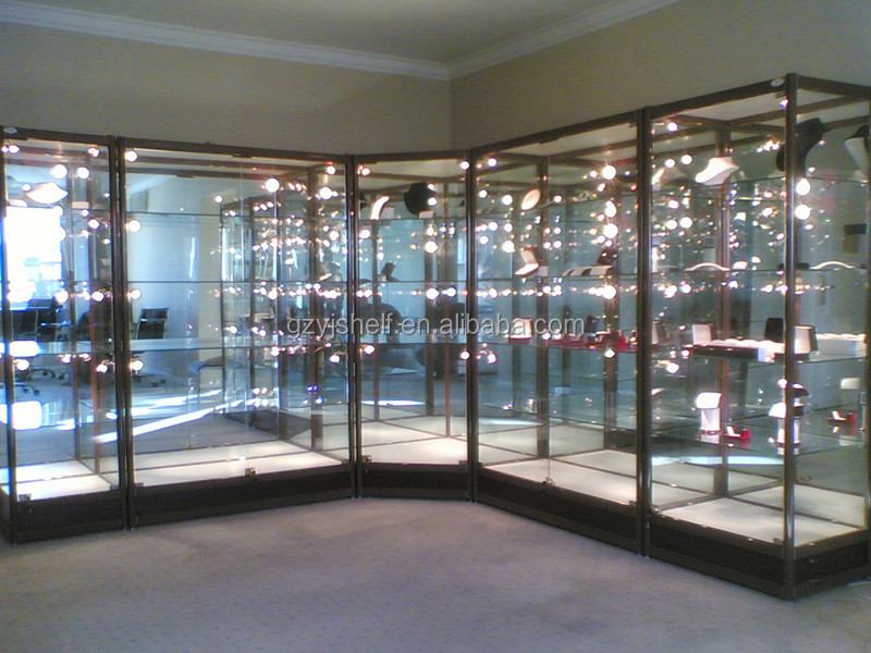 Modern Glass Display Cabinet, Metal Toy Display Cabinet With Glass Sliding  Door Part 68