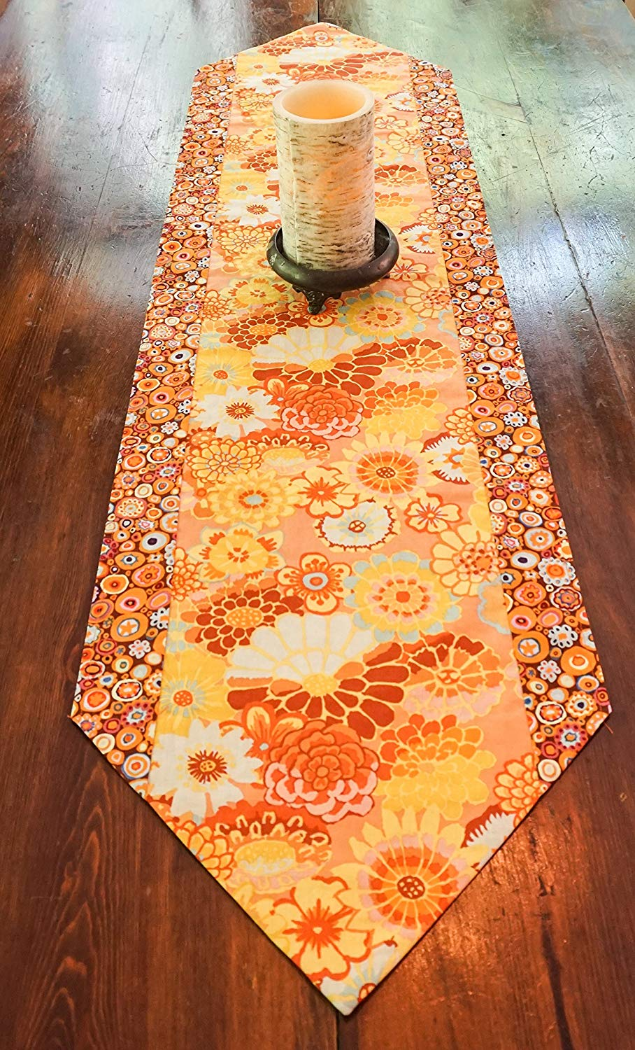 Floral Table Runner-Tableware-Boho Decor-Cottage Decor-Party Decorations-Summer Party-Gift