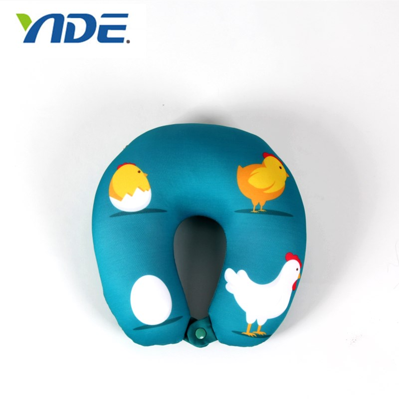 Funny Wholesale Microbead Neck U Pillow 2 in 1