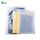 Large Clear Plastic Zipper Garment Vinyl Travel Carry Bags On Roll Wholesale With Pockets