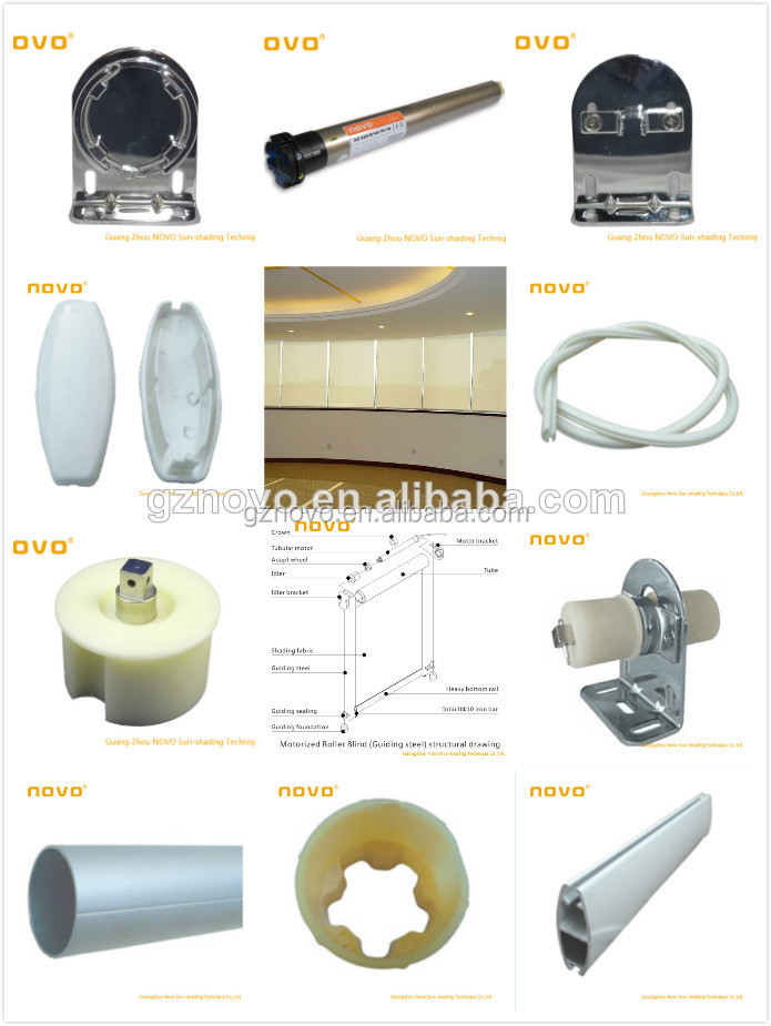 Roman Shade Parts Accessories For Roller Blinds Roller Blind Accessory Curtain Pipe Accessories
