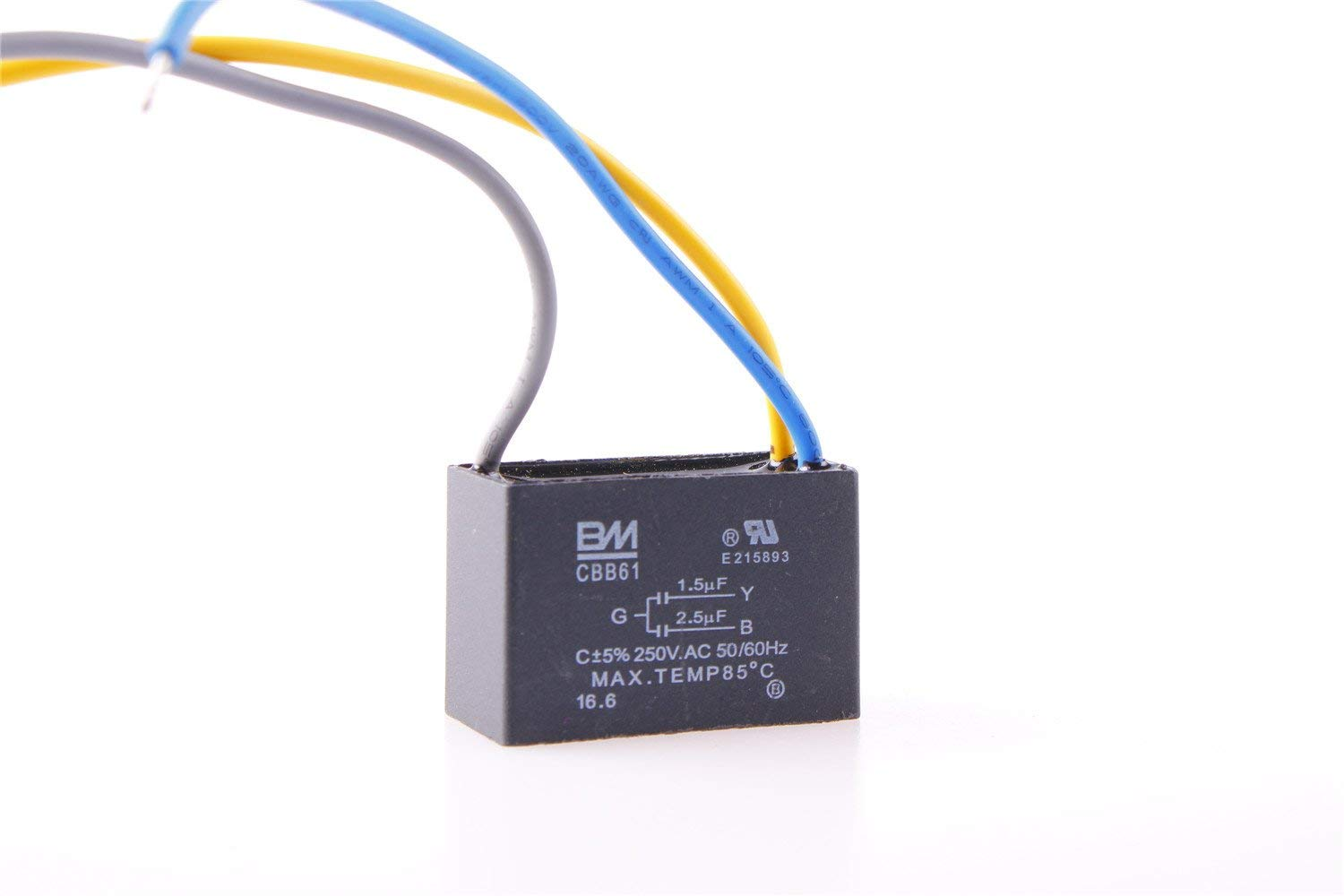 Cheap Ac Fan Capacitor 2 5uf Find Deals On Electrical Circuit Get Quotations 1x Cbb61 Ac250v 15uf 25uf Electric Run Start 3 Wired