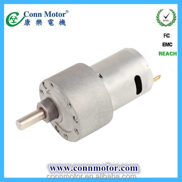 China manufacture super quality generator low rpm dc motor for Low rpm motor dc