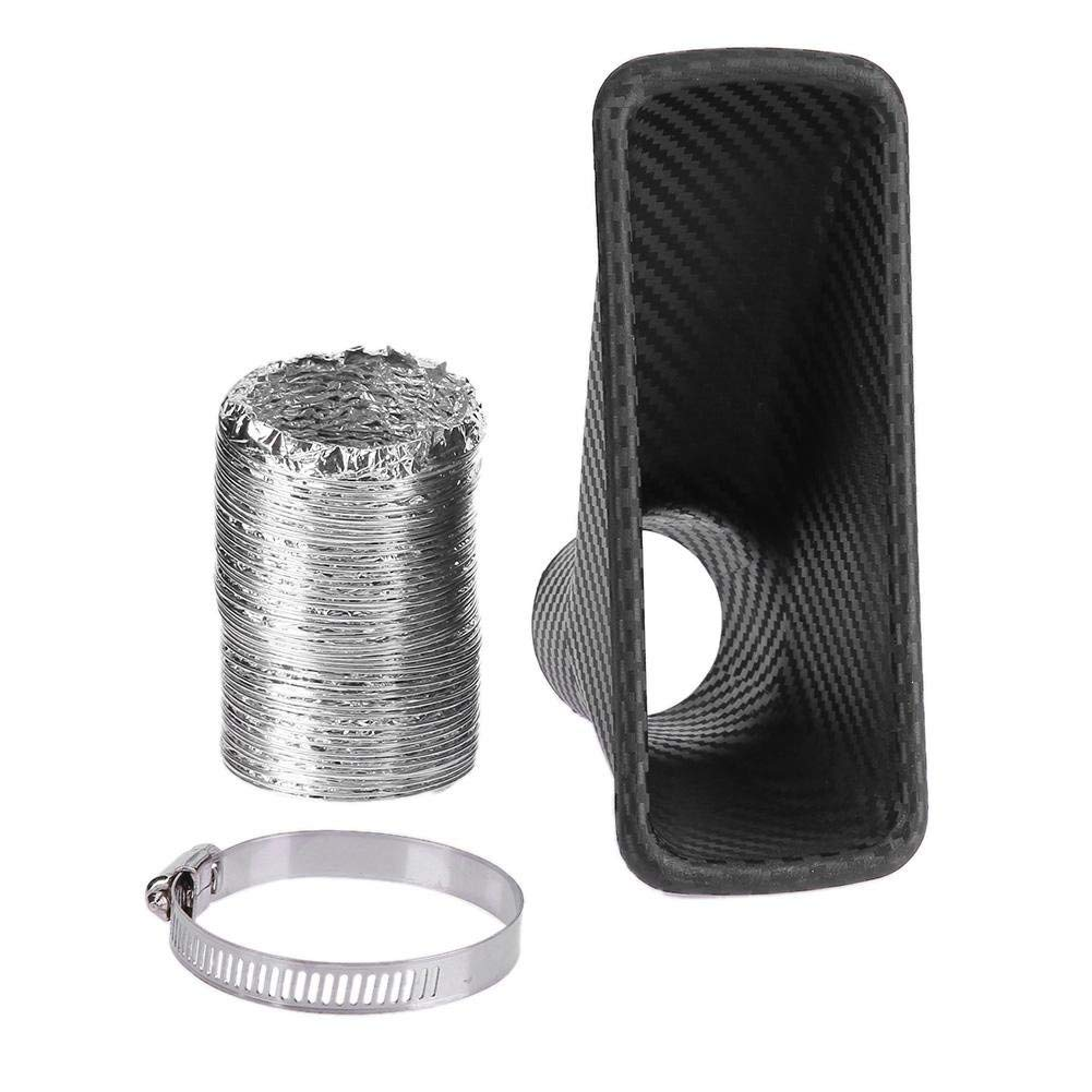Automobiles & Motorcycles Auto Replacement Parts Car High Flow Automobiles Filters Air Filter Air Intake Universal 76mm 3inch Air Intake High Power Mesh Cone Electroplate Gray Durable In Use