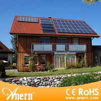 High quality 5000w solar electrical panels without battery backup