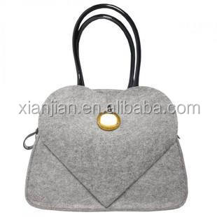 Winter Autumn Fashion Women Lady Felt Exclusive Design handbag (SL100253)