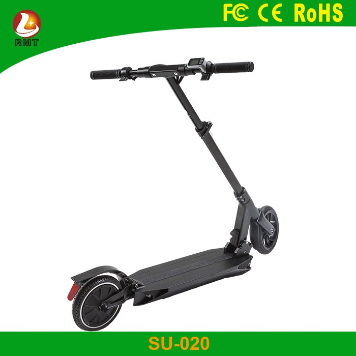 Customized cheap price electric transporter 300W folding adult kick scooter