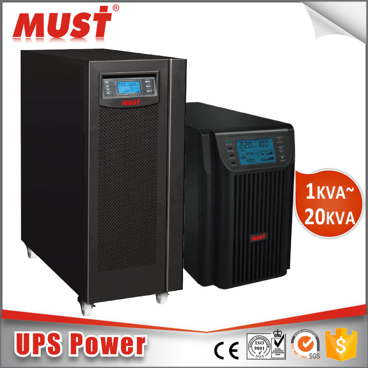 MUST Price of UPS Systems Customized 20KVA 16KW with Inbuilt Battery Long Backup
