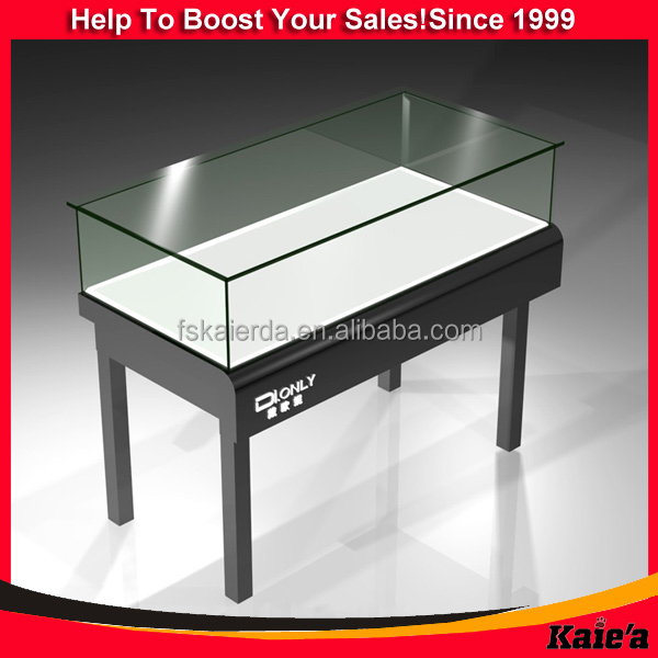 Perfect Jewelry Counter/glass Jewelry Display Table/glass Top Display Table