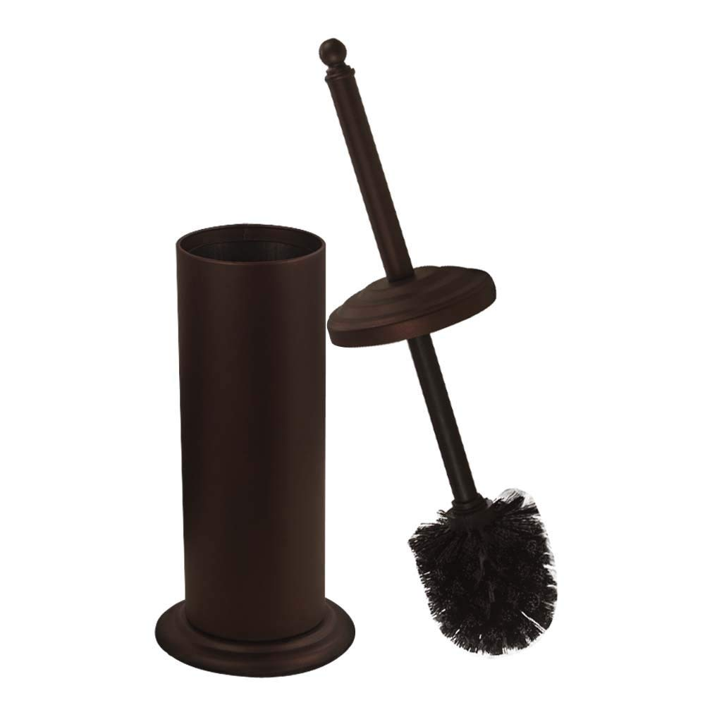 Dowry Toilet Brush Set Bronze Painting,Toilet Bowl Cleaning System Hideaway,14.17 inches Clean Brush
