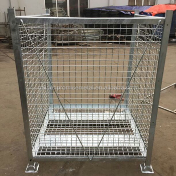 Folding Wire Mesh Cage Storage Steel Crate,Foldable Steel Cage   Buy  Foldable Steel Cage,Storage Crate,Industrial Storage Cage Product On  Alibaba.com