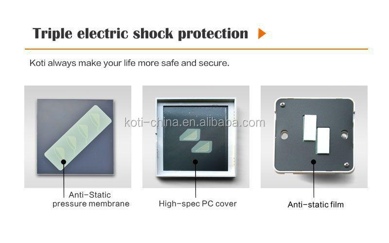 Koti 1 Gang Wireless Wall Switch Moderm Smart Led Dimmer Switch ...