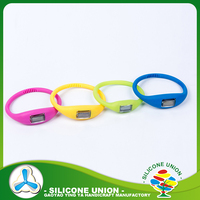 Customized bulk cheap silicone rubber bracelet watch