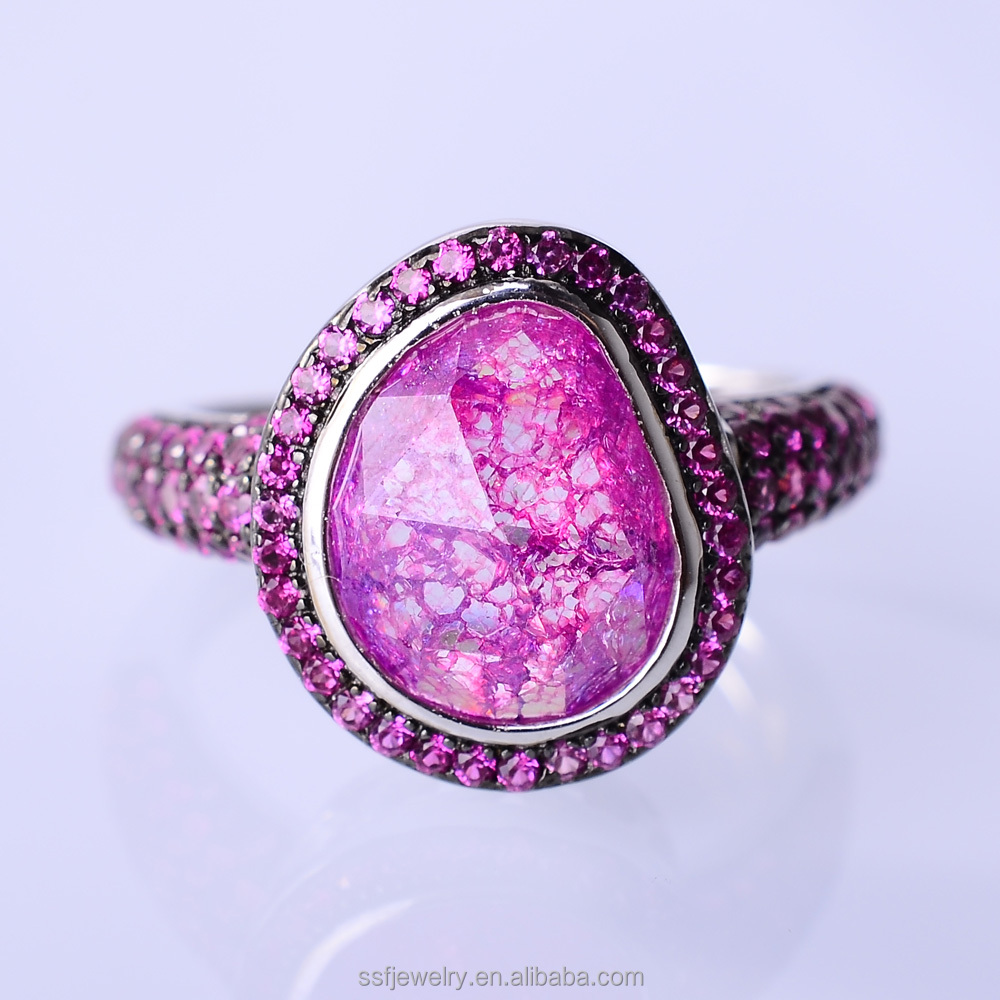 China Pink Wedding Rings, China Pink Wedding Rings Manufacturers and ...