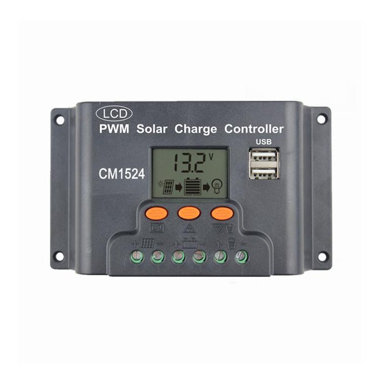 Erneuerbare Energie Smart Solar Panel Regulator Charge Controller 12v/24v Auto Charger Switch Usb V3