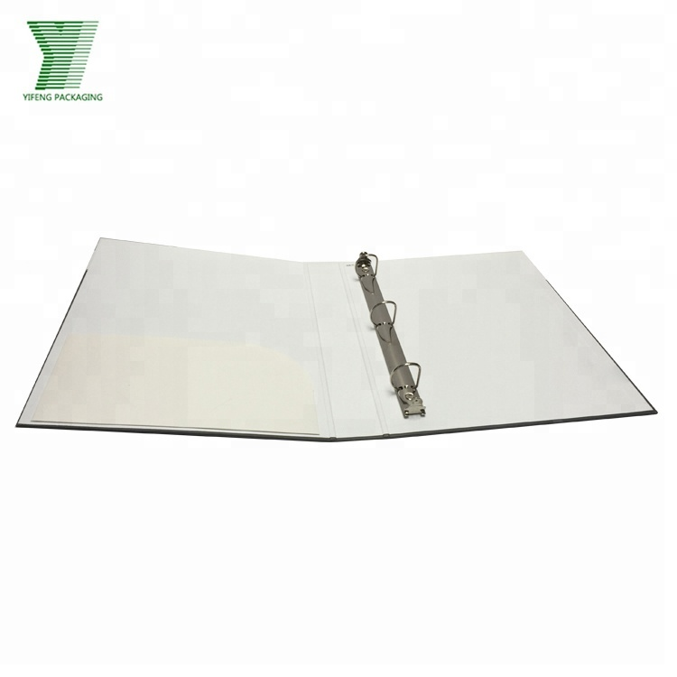 Durable Cardboard A4 2 Inch Spine Metal 4D Ring Binder For Office School Home And Business Trip