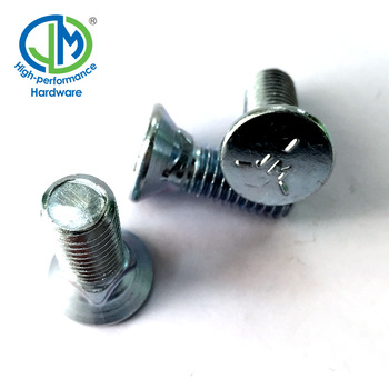 Grade 8 S Torque Washer Zinc Plated Carriage Bolt - Buy Zinc Plated  Carriage Bolt,Zinc Plated Carriage Bolt,Brass Carriage Bolts Product on