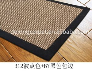 good quality fast delivery quick dry Top-selling sisal carpet/rug/mat