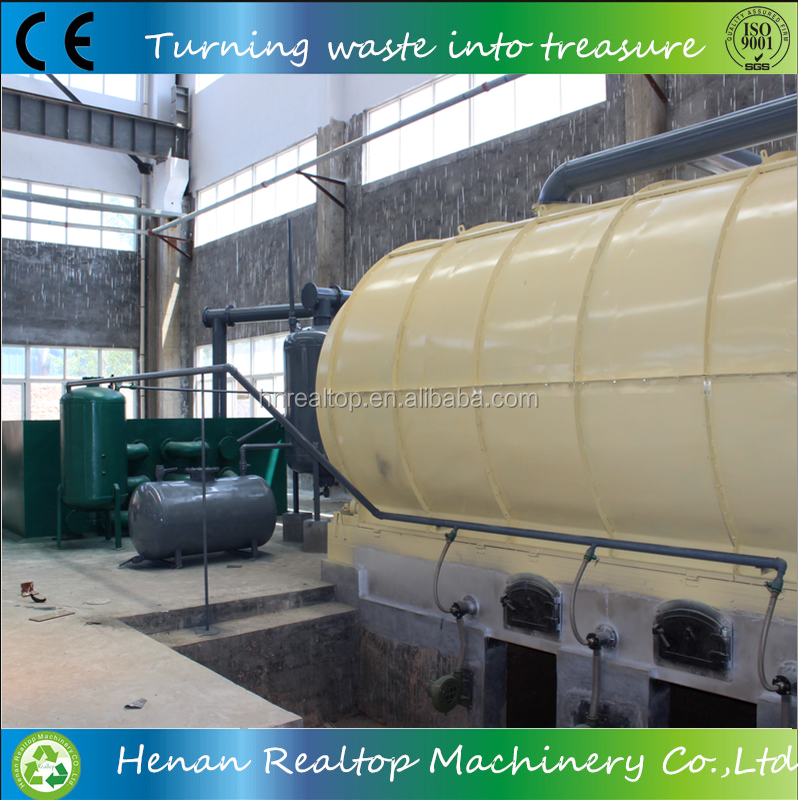 waste recycling to oil machine for Latin America with Colombia engineer