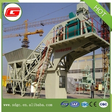 China Manufacture 50m3/h mobile concrete mixing plant for sale