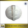 stainless steel butterfly valve deck plate