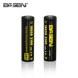 Basen Dubai Vape Mod Electric Toy 18650 3100mah 30a 3.7v Icr 14650 Battery For 48 Volt Golf Cart Batteries E Hookah Vaporizer