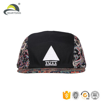 042bd82f4583c flat short brim custom-made cap 5 panel
