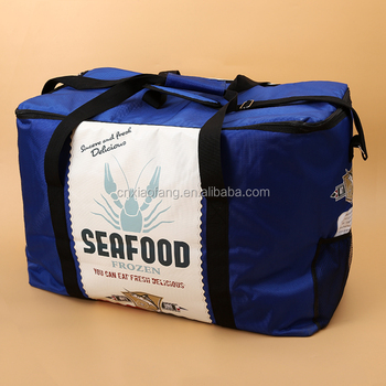 Bulk Extra Large Size Insulated Cooler Bag Frozen Food For Sea
