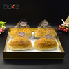 China supplier plastic fast food acrylic restaurant serving tray