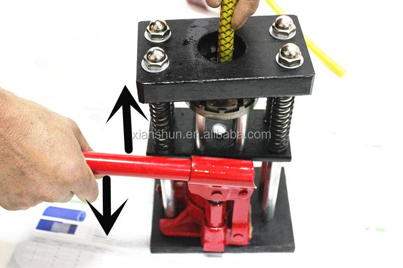 Portable Hydraulic Hose Repair : Portable hydraulic hose crimping machine handheld