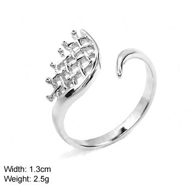 Echt 925 Sterling Silber Ring frauenring silberschmuck
