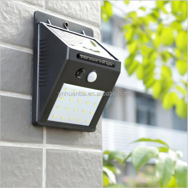 New outdoor garden solar light waterproof 20 led solar motion sensor new outdoor garden solar light waterproof 20 led solar motion sensor light workwithnaturefo