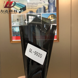 VLT 20% PET UV400 solar window film fro car