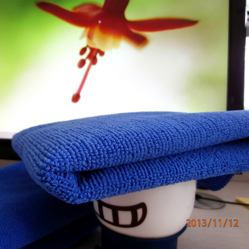 micro fiber fabric floor cleaning towel for home