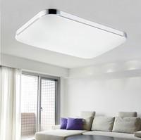 Buy Good size modern decorative square acrylic led ceiling ...