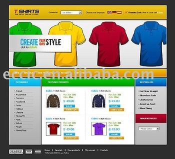 Website Designing T-shirt Ecommerce Website Design Service Rent Or ...